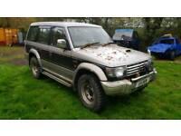 Mitsubishi pajero 2.8 diesel 4x4 off road mud