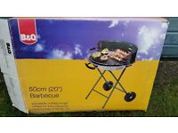 BBQ - 50cm circular metal barbecue