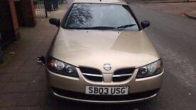 Nissan Almera 2003 1.5l Petrol