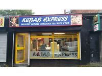 Take Away Kebab and Pizza Shop for Sale, Ballygomartin Road, Belfast