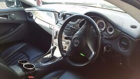 Good running ,black mercedes with low milage and good price