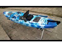 2018 brand new 12v motorised Sea fishing kayaks
