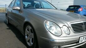 VERY LOW MILES MERCEDES E280 CDI