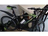 "GreenEdge CS2 Electric Mountain Bike 19"" Unisex Bicycle 2017 - Near NEW condition. E-bike :)"