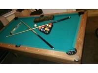 Luxury 3 in 1 Pool/Air hockey and TT