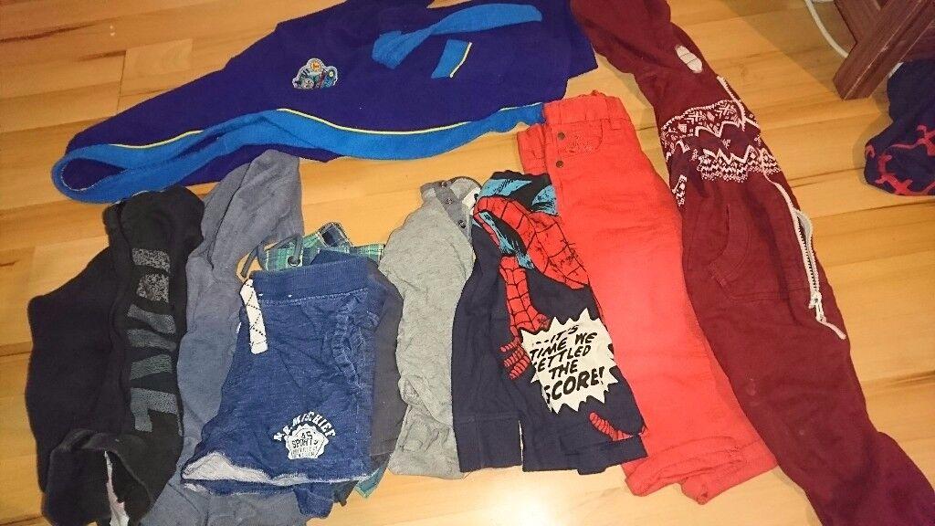 Baby boy toddler clothes 1-2 2-2and a half
