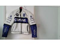 Genuine BMW leather formula 1 racing jacket...................��30 ono