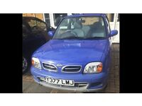 Nissan Micra (blue) FOR SALE