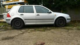 Volkswagen golf 1.9 diesel breaking for parts