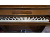 Paul Gerhard upright piano