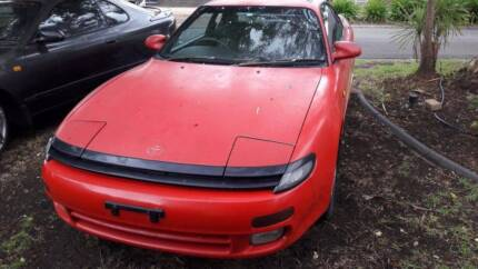 CELICA RED 1993 ST184 5 SPEED PARTS MANUAL SUNROOF HATCH  FOR PAR
