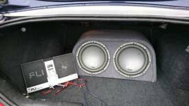 Sub and amp