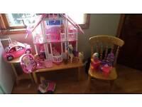 Barbie Dream House huge bundle