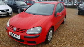 2004 VW Golf 1.4 S 3dr Hatch back,Full VW Service History,Mot.Electric Sunroof,Cambelt Changed.