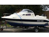 Galia 485 Motor Boat, Day Boat, Sports Cruiser, cuddy cabin