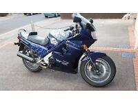 1987 HONDA VFR750F-H BLUE