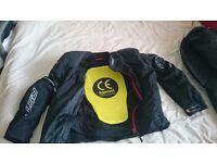 RST BLADE - WATERPROOF/ARMOURED MOTORCYCLE JACKET -£60 ono
