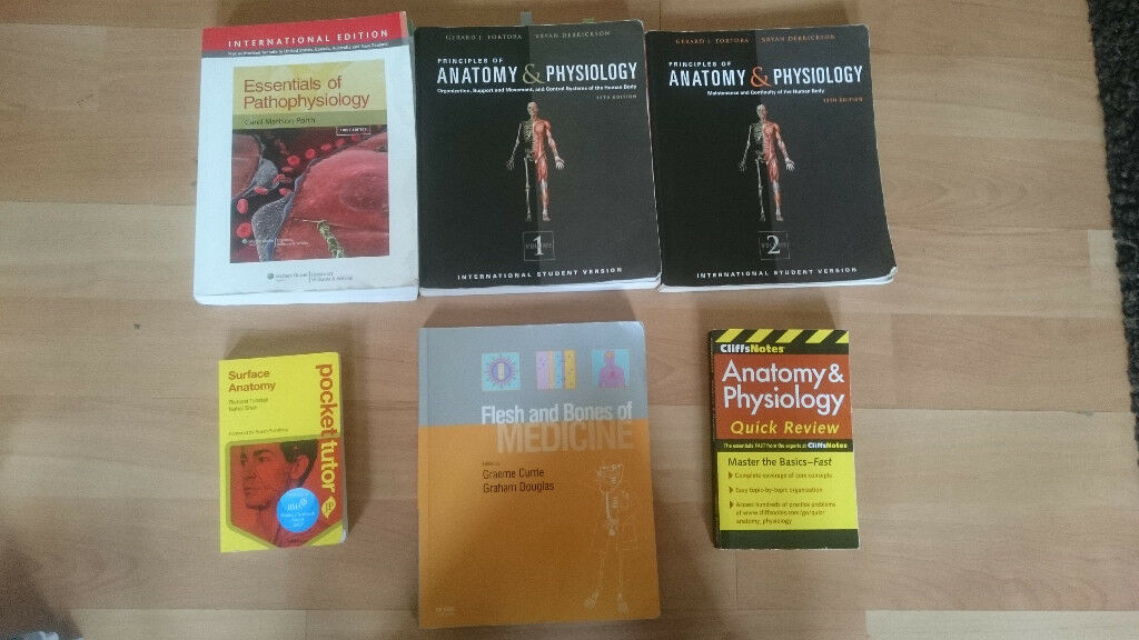 Medical Textbooks for sale - Anatomy, physiology, pathophysiology ...