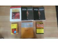 Medical Textbooks for sale - Anatomy, physiology, pathophysiology. Tortora, CLIFFNOTES etc!