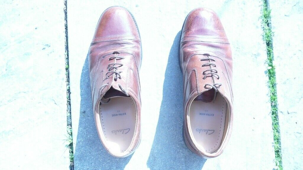 a01001c0b Clarks Oxford shoes 11 not brogues   in Consett, County Durham ...