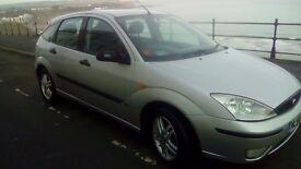 For sale 1.6 ford focus, 1yrs mot, 98000