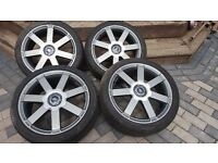 FOR SALE GENUINE ALLOY WHEELS FORD FOCUS 225/40/18