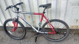 BARRACUDA XC300 MOUNTAIN BICYCLE OMEGA ALLOY 24 SPEED 26 INCH FRAME AVAILABLE FOR SALE