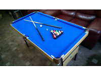 POOL TABLE foldable (4ft 6in) NEW!!!