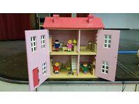 Dolls House - Wooden.