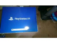 Mint condition playstation vr