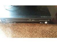Black Panasonic dvd/video player