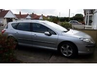 Peugeot 407 sw estate fab car only selling due to change in circumstances