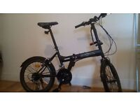 "ECOSMO 20"" Folding City Bicycle Bike, AS NEW, 21SP. (ACCESSORIES INCLUDED)"