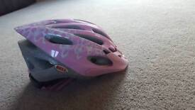 Girl cycle helmet pink 'BELL'