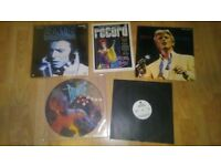 5 x david bowie - let's dance picture disc / sealed laserdisc / promo / golden years