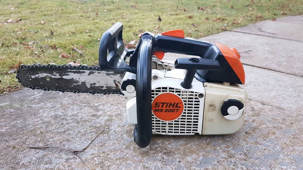Stihl Ms200t Chainsaw Ms 200 Top Handle In Alford