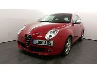 2010 | Alfa Romeo MiTo 1.6 JTDM Veloce 3dr | 2 Former Keepers | 10 Months MOT | Bluetooth Interface