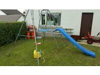 TP slide swing climbing frame