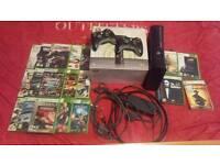 Xbox 360 Elite 120Gb With 22 Games