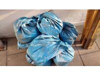 8 bags of soil - free