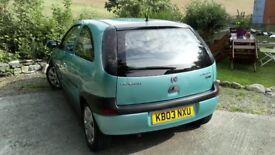 Vauxhall Corsa 1.2 SXi (Spearmint Silver)