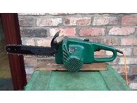 Electric chainsaw made by mcculloch