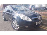 2007 Vauxhall Corsa 1.2 i 16v Design 3dr (a/c) Hatchback, Warranty & Breakdown Available, £1,395