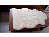 Sheepskin Baby Comforter