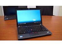 Lenovo ThinkPad X230 Laptop FAST 3rd Gen i5 2.6Ghz Win 10 pro Wireless Webcam