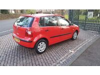 2003 VOLKSWAGEN POLO 1.2 S RED GREAT CONDITION F.S.H