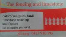 tas fencing and limestone Willetton Canning Area Preview