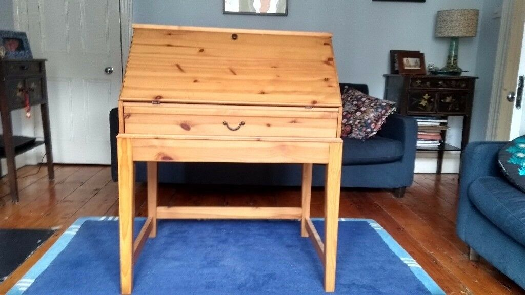 Ikea pine writing bureau in southville bristol gumtree