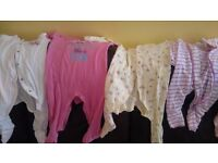 37 piece baby girl clothes bundle 0-6 months