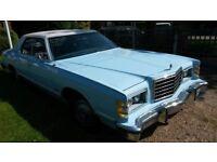 1977 Ford LTD sedan, 400ci Auto, light Blue w/ dark blue cloth trim, in beutiful condition, NO RUST!